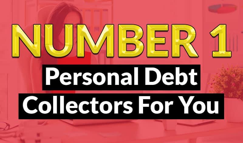 Number personal debt collectors