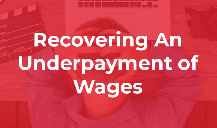 Recovering An Overpayment Of Wages