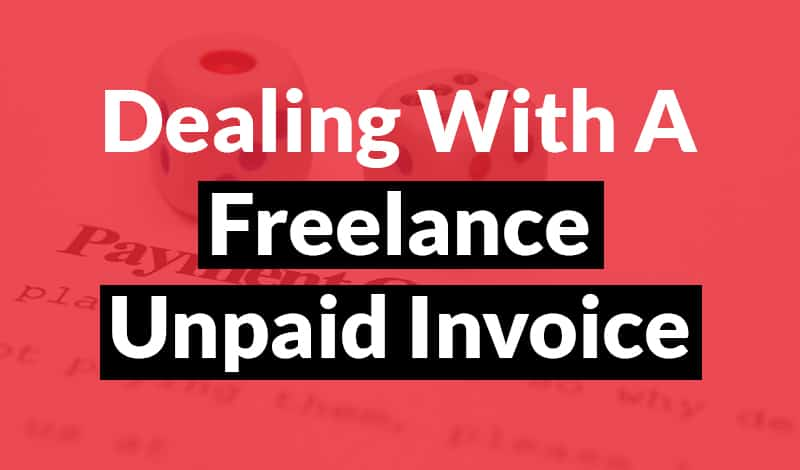 Freelance Unpaid Invoice Freelance Unpaid Invoice