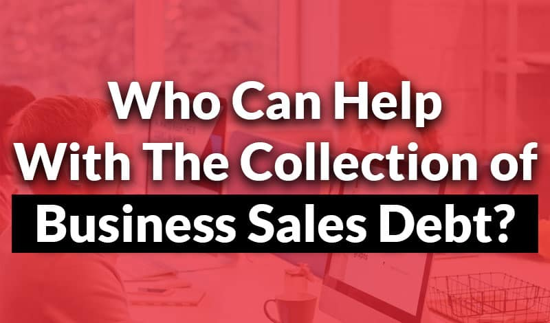 collection of business sales debt