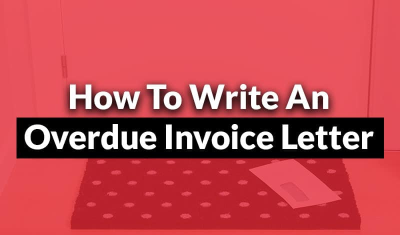 Overdue Invoice Letter